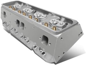 Replacement For Chevy Small Block Straight Aluminum Bare Cylinder Head