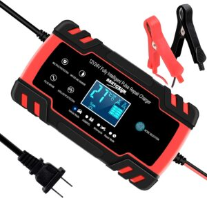 SUHU Smart Automatic Battery Charger, 12V/8A 24V/4A