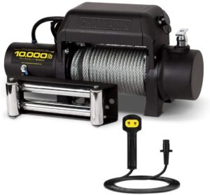 Champion 10,000-lb Winch Kit with Remote Control